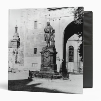"Estatua de Johann Sebastian Bach Carpeta 1 1/2"""
