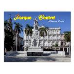 Estatua de Jose Marti en La Habana, Cuba Tarjeta Postal