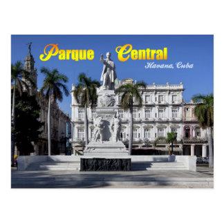 Estatua de Jose Marti en La Habana, Cuba Tarjetas Postales