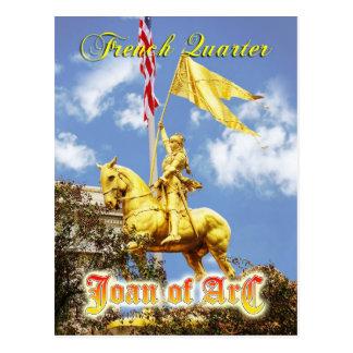 Estatua de Juana de Arco (criada de Orleans), New Tarjetas Postales