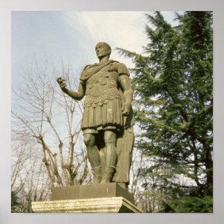 Estatua de Julio César Poster