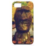 Estatua de la cabeza de la isla de pascua iPhone 5 Case-Mate protector