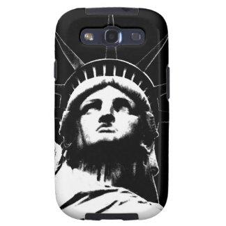 Estatua de la caja de la galaxia de Nueva York del Galaxy S3 Cárcasas