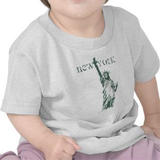 Estatua de la camisa NYC de Nueva York del bebé