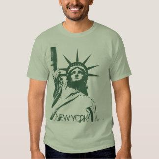 Estatua de la camiseta básica de Nueva York de la Playeras