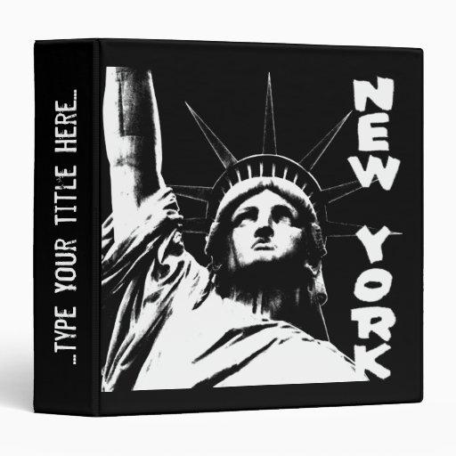 Estatua de la carpeta de Nueva York de la carpeta
