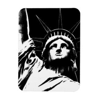 Estatua de la ciudad del imán NY de Nueva York del