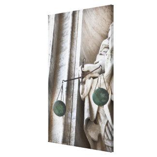 Estatua de la Ciudad del Vaticano Impresiones En Lienzo Estiradas
