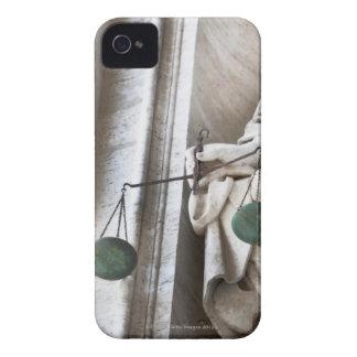 Estatua de la Ciudad del Vaticano iPhone 4 Case-Mate Cobertura