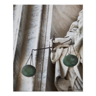 Estatua de la Ciudad del Vaticano Póster