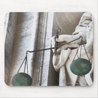 Estatua de la Ciudad del Vaticano Alfombrilla De Raton
