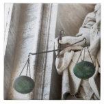 Estatua de la Ciudad del Vaticano Teja Cerámica