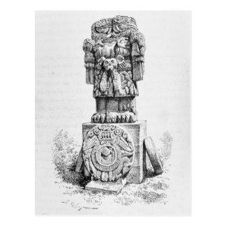 Estatua de la diosa Coatlicue Postales