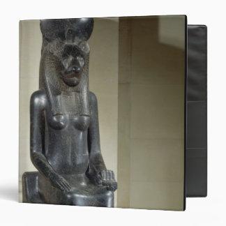 """Estatua de la diosa león-dirigida Sekhmet, del th Carpeta 1 1/2"""""""