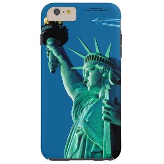 Estatua de la imagen de la libertad para funda para iPhone 6 plus tough
