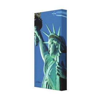 Estatua de la imagen de la libertad para la impresiones en lona estiradas