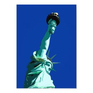 Estatua de la invitación de la libertad