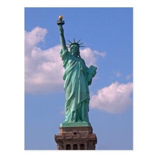 Estatua de la libertad 003 postal