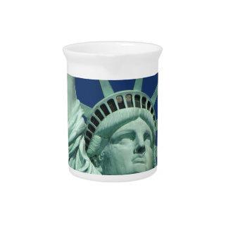 Estatua de la libertad 2 jarrones