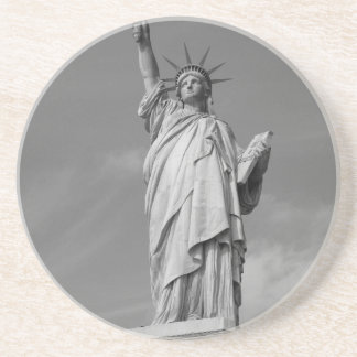Estatua de la libertad 3 posavasos para bebidas