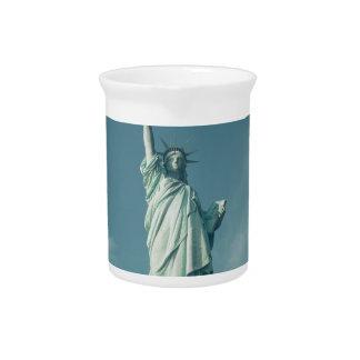 Estatua de la libertad 6 jarra