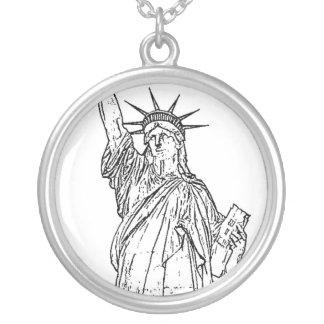 Estatua de la libertad grimpolas