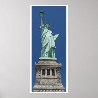 Estatua de la libertad/de la alta resolución póster