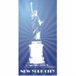 Estatua de la libertad de la ciudad de Nueva York Escultura Fotografica