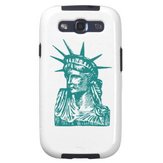 Estatua de la libertad/de señora Liberty Galaxy S3 Cárcasas