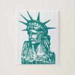 Estatua de la libertad/de señora Liberty Puzzle Con Fotos