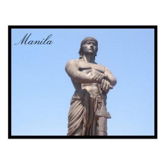 estatua de la libertad del lapu postal