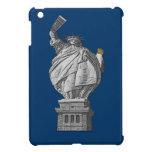 Estatua de la libertad divertida iPad mini protector
