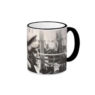 Estatua de la libertad en la fabricación taza de café