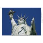 Estatua de la libertad felicitacion