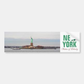 Estatua de la libertad fresca - NY Nueva York Pegatina Para Coche