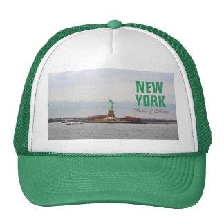 Estatua de la libertad fresca - NY Nueva York Gorros Bordados