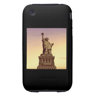 Estatua de la libertad iPhone 3 tough coberturas