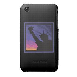 Estatua de la libertad iPhone 3 carcasa