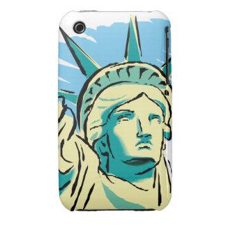 Estatua de la libertad iPhone 3 Case-Mate carcasas