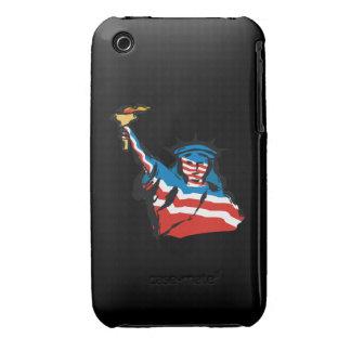 Estatua de la libertad iPhone 3 Case-Mate cárcasa