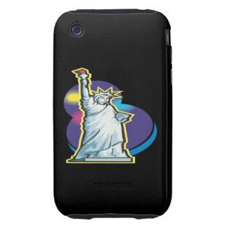 Estatua de la libertad iPhone 3 tough carcasas