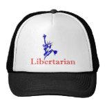 Estatua de la libertad -- Icono libertario retro Gorra