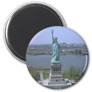 Estatua de la libertad iman de frigorífico