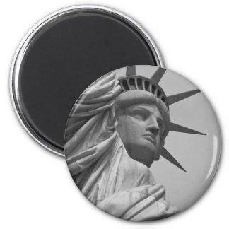Estatua de la libertad imanes de nevera