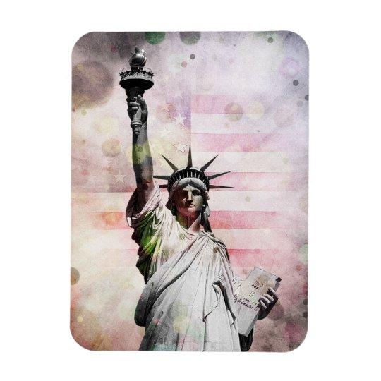 Estatua de la libertad imanes de vinilo