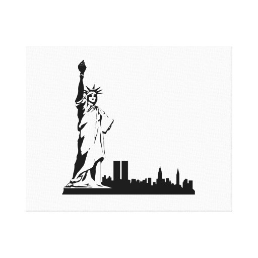 Estatua de la libertad impresion en lona
