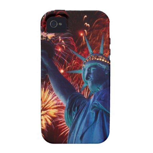 Estatua de la libertad iPhone 4 carcasa