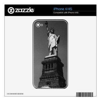 Estatua de la libertad iPhone 4 skins