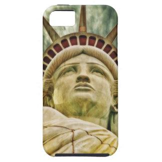 Estatua de la libertad iPhone 5 carcasa