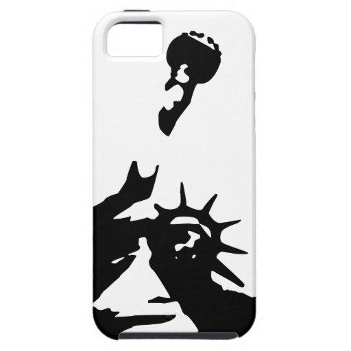 Estatua de la libertad iPhone 5 protector